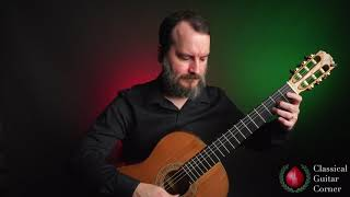 Christmas Songs for Classical Guitar:  Away in a Manger