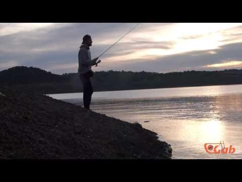 La pesca su un occhio una pertica