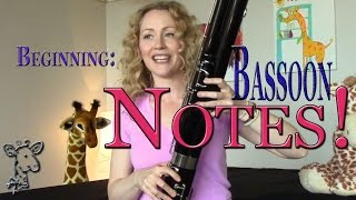 HOW TO: Beginning Fingerings for the Bassoon