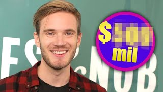 Pewdiepie NETWORTH revealed! 📰PEW NEWS 📰