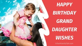 Birthday wishes and quotes for granddaughter ♥️♥️😘