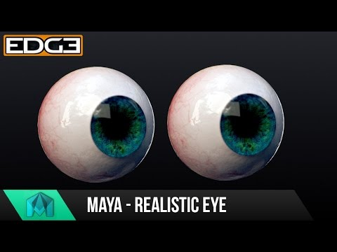 Maya Tutorial – How to create a realistic Eyeball with Arnold