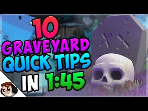 10 QUICK Tips About: Graveyard💀| Clash Royale