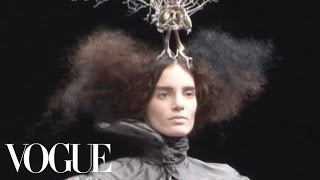 Fashion Show - Alexander McQueen: Fall 2008 Ready-to-Wear
