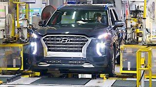 Hyundai Factory – 2020 Palisade, Tucson, Santa Fe, Elantra, Accent – Production Line