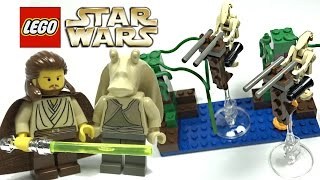 LEGO Star Wars Naboo Swamp review! 1999 set 7121!