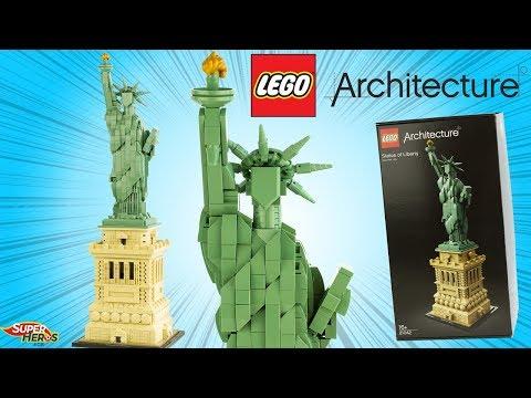 Vidéo LEGO Architecture 21042 : La Statue de la Liberté