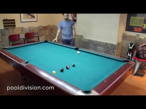 Entrenamiento de Billar (Pool) - 9 bolas a la misma esquina.