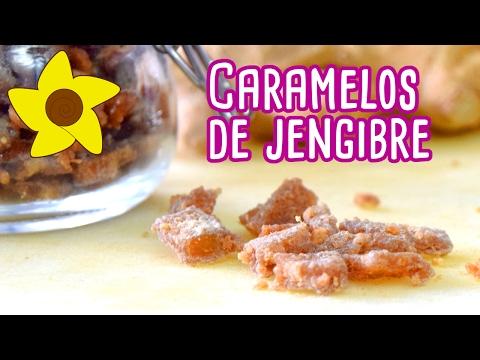 CÓMO HACER CARAMELOS DE JENGIBRE