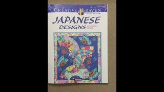 Japanese Designs - Creative Haven Flip Through