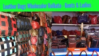 Leather Bag Wholesaler Kolkata - Gents & Ladies