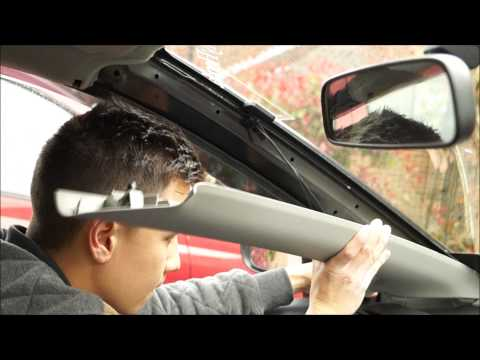 DAB Aerial Glass Windscreen Mount Install Video