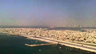 preview picture of video 'Landing at Bahrain Interl Airport GulfAir A-340.mp4'