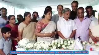 KVTV Live നീണ്ടൂർ  കല്ലിടാന്തിയിൽ മറിയക്കുട്ടി funeral part 1