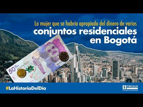 La mujer que se habría apropiado del dinero de varios conjuntos residenciales en Bogotá