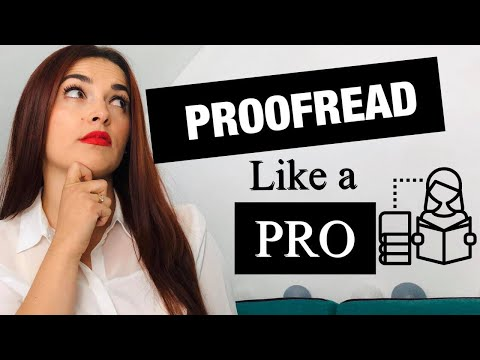 Proofreading Techniques – How to Start Proofreading Jobs Online