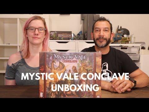 Unboxing: Mystic Vale Conclave