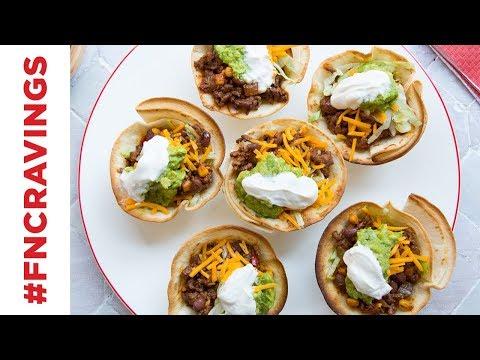 Brilliant Muffin Tin Taco Hack | Food Network