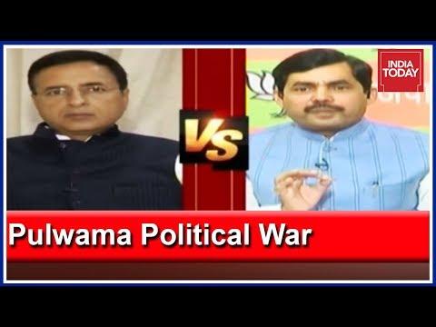 Randeep Surjewala Vs Shahnawaz Hussain: Who Is Politicising Pulwama Attack?
