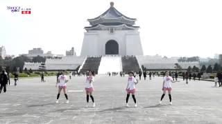 【Little Apple小蘋果】Double Double 粉紅格紋制服版 觀賞影片 名人娛樂 台灣