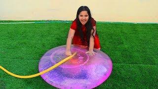 شفا تلعب أنشطة خارجية ممتعة  Shfa play fun games outdoor