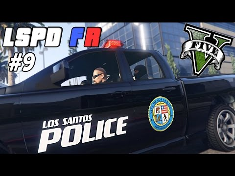 GTA 5 PC - LSPDFR # 9 | Patrol With SWAT Partners ! (4 New Police Cars)