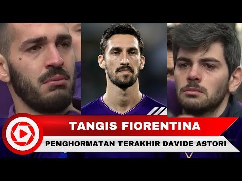 Penghormatan Terakhir Davide Astori Diiringi Isak Tangis Pemain Fiorentina