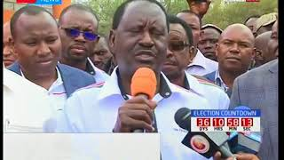 NASA leader Raila Odinga defends his Mpesa paybill number appeal  for funds