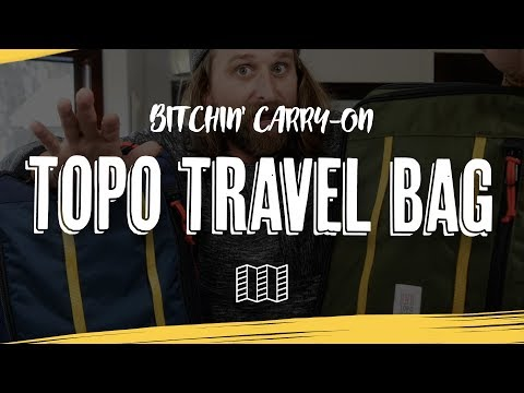 TOPO TRAVEL BAG REVIEW