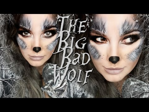The BIG BAD Wolf Makeup Tutorial!