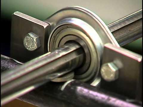 Go kart shaft, bearing and sprocket  - смотреть онлайн на Hah Life