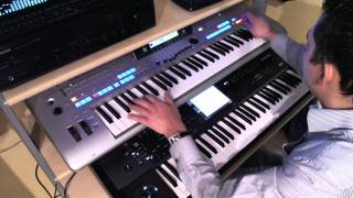 ANGEL : KORG KRONOS VOICES in TYROS 4 STYLE (MIDI CONNECTED) - OWN COMPOSITION- PETRY GILLES