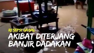 Resepsi Pernikahan Anggota Tim SAR Kudus Gagal seusai Dterjang Banjir