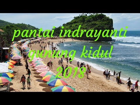 Pantai Indrayanti Jogja 2018