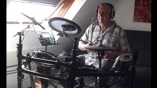"""I Can't Take It No More"" JOHN FOGERTY DRUM COVER"