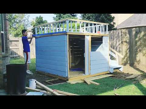 How to build your own kid's playhouse for about $350