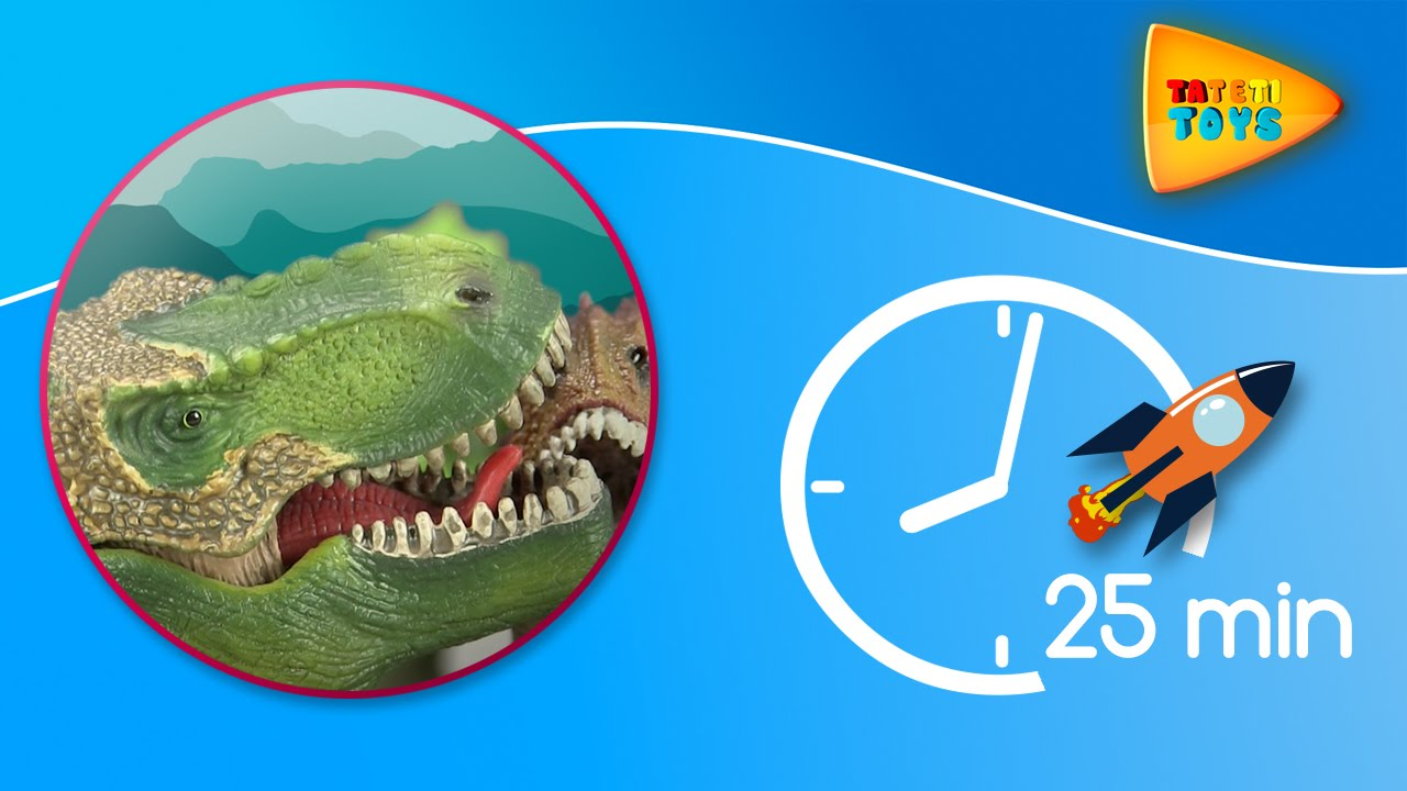 Dinosaurios en Jurassic World   25 minutos   Episodios completos