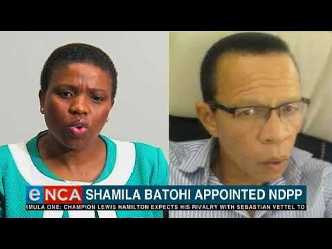 There's a new sheriff leading the troubled National Prosecuting Authority