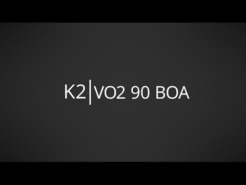 Video: 2017 K2 VO2 90 Boa Mens and Womens Inline Skate Overview by InlineSkatesDotCom