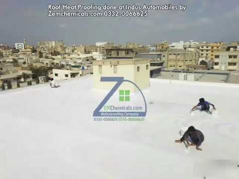 Roof Heat Proofing Treatment in Karachi