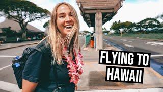 Flying Hawaiian Airlines from Australia to Hawaii