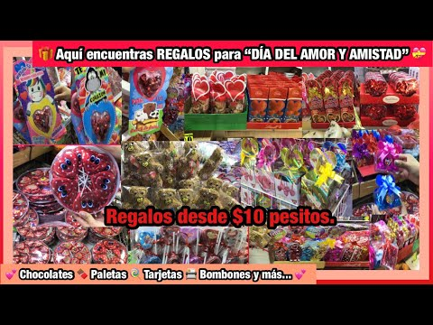 🎁REGALOS para el 14 DE FEBRERO desde $10 PESITOS   TARJETAS, CHOCOLATES, BOMBONES, PALETAS y más🍫