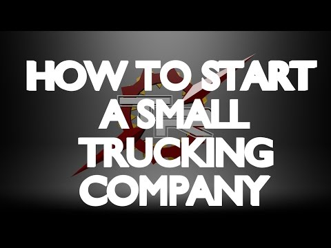 , title : 'HOW TO START A SMALL TRUCKING CO.- Part 1
