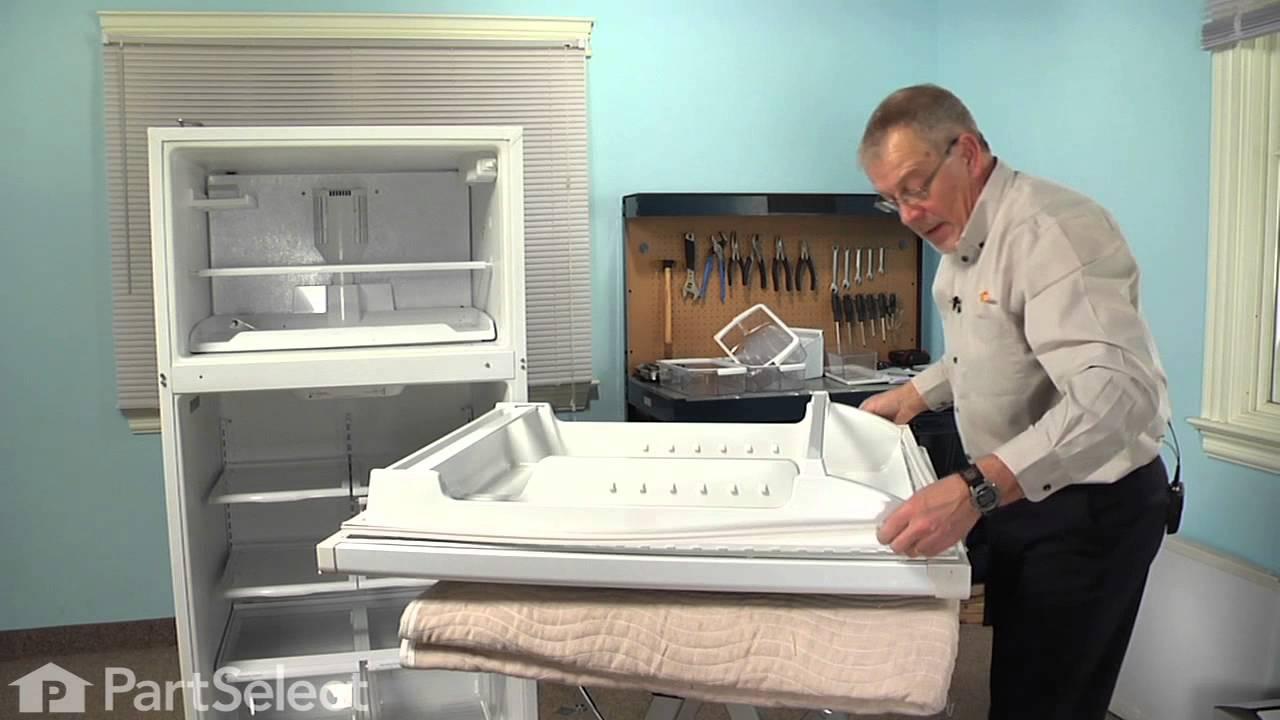 Replacing your Whirlpool Refrigerator Fresh Food Door Gasket