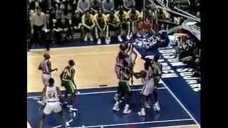 Shawn Kemp - Sonics at Knicks - 2/22/94