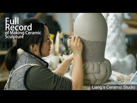 ceramic sculpture video tutorial by liang