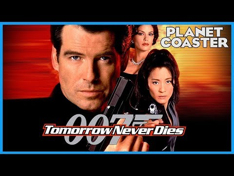 Tomorrow Never Dies: A James Bond Dark Ride! Coaster Spotlight 356 #PlanetCoaster