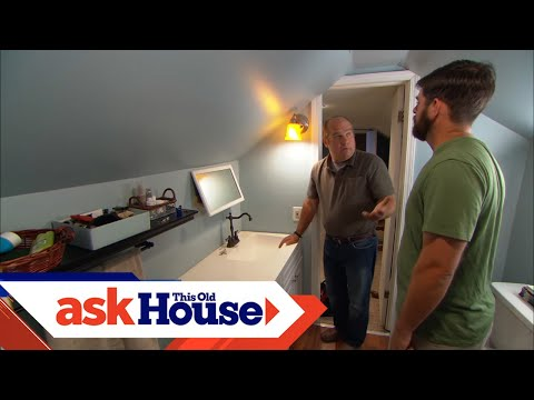 How to Drain and Vent a Bathroom Sink | Ask This Old House