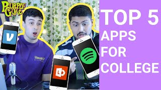 5 Apps COLLEGE Students NEED