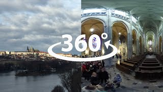 City of Prague in 360° videotour
